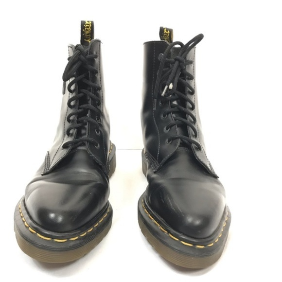 dr martens pointed shoes